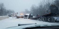 شایع ترین دلایل تصادفات  در زمستان