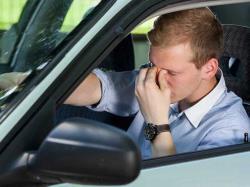 رانندگی خواب آلود را جدی بگیریم.